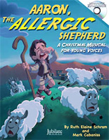 Aaron, the Allergic Shepherd (cover)
