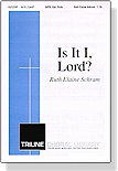 Is It I, Lord? (cover)